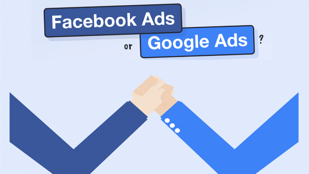 the difference between facebook ads and google ads
